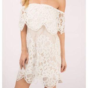 Ivory Lace Tobi Dress
